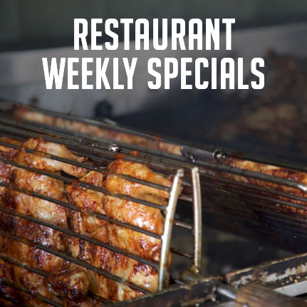 Restaurant Weekly Lunch Specials